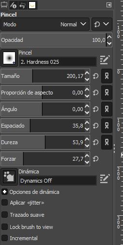 Como crear una sombra en GIMP 2