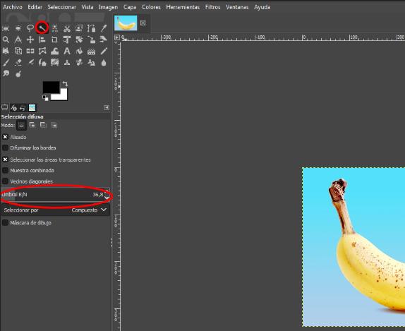 Como siluetar una imagen en GIMP2